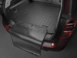 ES#3458616 - 40383SK - Cargo With Bumper Protector - Black - Mercedes-Benz GLK-Class 2010 + - WeatherTech - Mercedes Benz