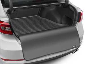 ES#3458787 - 40690SK - Cargo With Bumper Protector - Black - Mercedes-Benz E-Class 2003 - 2009 Sedan; fits vehicle with Command Navigation - WeatherTech - Mercedes Benz