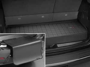 ES#3458739 - 40601SK - Cargo With Bumper Protector - Black - Mercedes-Benz GLS-Class 2017 + - WeatherTech - Mercedes Benz