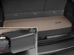 ES#3459203 - 41601SK - Cargo With Bumper Protector - Tan - Mercedes-Benz GLS-Class 2017 + - WeatherTech - Mercedes Benz