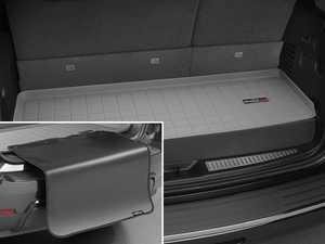 ES#3459463 - 42601SK - Cargo With Bumper Protector - Grey - Mercedes-Benz GLS-Class 2017 + - WeatherTech - Mercedes Benz
