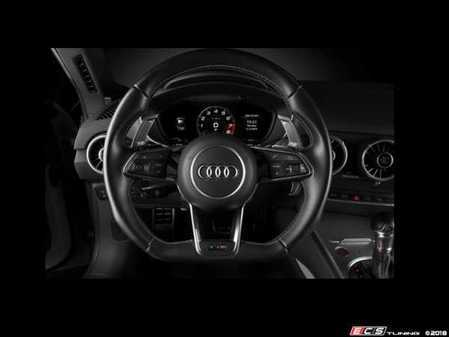 ES#3559476 - PA004B - Leyo V4 Billet Paddle Shifter Extensions - Black - High Performance Billet 6061 T6 Aluminum paddle extensions - LEYO - Audi