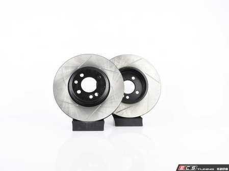 ES#2597869 - 34116858652SLKKT - Performance Front & Rear Brake Service Kit - Featuring ECS V4 Slotted rotors and Hawk HPS pads - Assembled By ECS - MINI