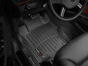 ES#2837565 - 440161 - 2007 - 2012 Mercedes-Benz GL-Class (X164) Black Front FloorLiner - WeatherTech - Mercedes Benz
