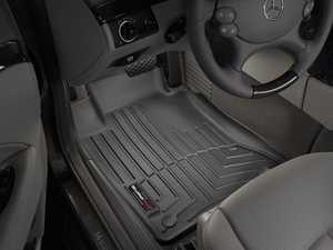 ES#2837577 - 440881 - Front FloorLiner DigitalFit - Black - Laser measured for perfect fitment and ultimate protection against moisture and debris - WeatherTech - Mercedes Benz