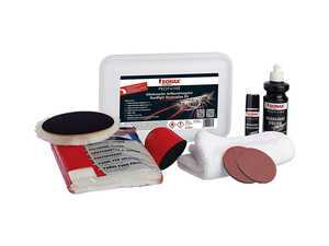 ES#3559689 - 405741 - ProfiLine Headlight Restoration Kit - Professional grade kit for restoring faded headlight lenses back to like-new condition - SONAX - Audi BMW Volkswagen Mercedes Benz MINI Porsche