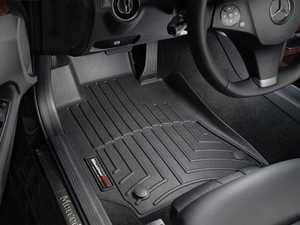 ES#2837646 - 442581 - Front FloorLiner DigitalFit - Black - Laser measured for perfect fitment and ultimate protection against moisture and debris - WeatherTech - Mercedes Benz