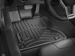 ES#2837702 - 444901 - 2013 - 2014 Mercedes-Benz SL-Class Black Front FloorLiner - WeatherTech - Mercedes Benz