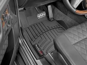 ES#2837703 - 444941 - 2013 + Mercedes-Benz G-Class Black Front FloorLiner - WeatherTech - Mercedes Benz