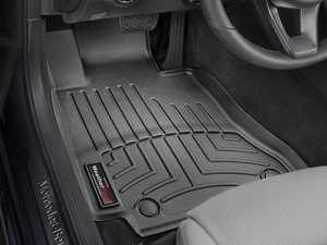 ES#2837730 - 446761 - 2015 + Mercedes-Benz C-Class Black Front FloorLiner - WeatherTech - Mercedes Benz