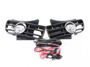 ES#3021411 - LFGLF99COEMTL - Fog Light Conversion Kit - Aftermarket fog light kit with clear lenses - Spec-D Tuning - Volkswagen