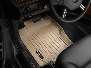 ES#2837735 - 450161 - 2007 - 2012 Mercedes-Benz GL-Class (X164) Tan Front FloorLiner - WeatherTech - Mercedes Benz