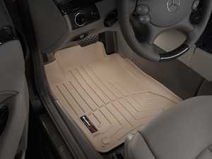 ES#2837747 - 450881 - 2004 - 2009 Mercedes-Benz E320 Sedan Tan Front FloorLiner - WeatherTech - Mercedes Benz