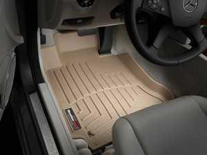 ES#2837773 - 451611 - 2008 - 2013 Mercedes-Benz C-Class (W204) Tan Front FloorLiner - WeatherTech - Mercedes Benz