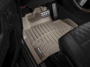ES#2837794 - 452211 - 2002 + Mercedes-Benz G-Class (W463) Tan Front FloorLiner - WeatherTech - Mercedes Benz