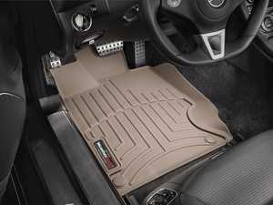 ES#2837813 - 452541 - 2008 - 2012 Mercedes-Benz SL-Class Tan Front FloorLiner - WeatherTech - Mercedes Benz