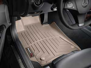 ES#2837816 - 452581 - Front FloorLiner DigitalFit - Tan - Laser measured for perfect fitment and ultimate protection against moisture and debris - WeatherTech - Mercedes Benz