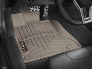 ES#2837870 - 454901 - 2013 - 2014 Mercedes-Benz SL-Class Tan Front FloorLiner - WeatherTech - Mercedes Benz