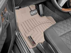 ES#2837871 - 454941 - 2013 + Mercedes-Benz G-Class Tan Front FloorLiner - WeatherTech - Mercedes Benz