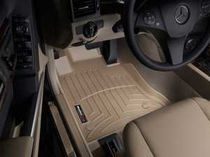 ES#2837875 - 455011 - 2013 + Mercedes-Benz GLK-Class Tan Front FloorLiner - WeatherTech - Mercedes Benz