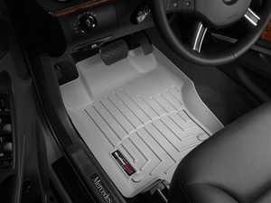 ES#2837897 - 460161 - 2007 - 2012 Mercedes-Benz GL-Class (X164) Grey Front FloorLiner - WeatherTech - Mercedes Benz
