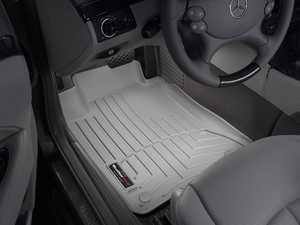 ES#2837909 - 460881 - 2004 - 2009 Mercedes-Benz E320 Sedan Grey Front FloorLiner - WeatherTech - Mercedes Benz