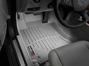 ES#2837935 - 461611 - 2008 - 2013 Mercedes-Benz C-Class (W204) Grey Front FloorLiner - WeatherTech - Mercedes Benz