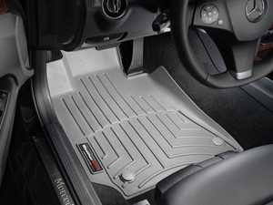 ES#2837978 - 462581 - Front FloorLiner DigitalFit - Gray - Laser measured for perfect fitment and ultimate protection against moisture and debris - WeatherTech - Mercedes Benz