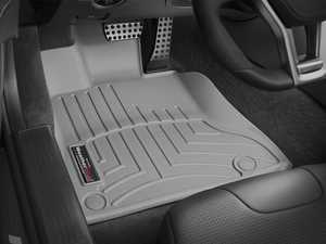 ES#2838032 - 464901 - 2013 - 2014 Mercedes-Benz SL-Class Grey Front FloorLiner - WeatherTech - Mercedes Benz