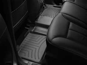 ES#2837566 - 440162 - 2007 - 2012 Mercedes-Benz GL-Class (X164) Black Rear FloorLiner - WeatherTech - Mercedes Benz