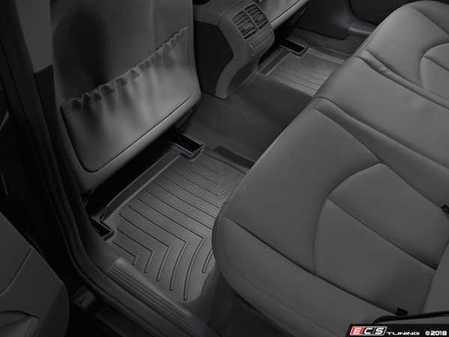 ES#2837578 - 440882 - Rear FloorLiner DigitalFit - Black - Laser measured for perfect fitment and ultimate protection against moisture and debris - WeatherTech - Mercedes Benz