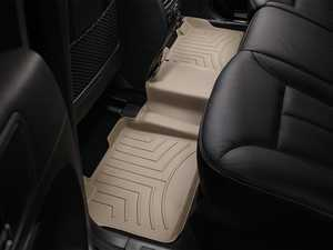 ES#2837736 - 450162 - 2007 - 2012 Mercedes-Benz GL-Class (X164) Tan Rear FloorLiner - WeatherTech - Mercedes Benz