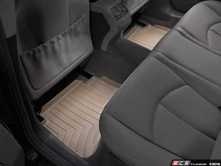 ES#2837748 - 450882 - Rear FloorLiner DigitalFit - Tan - Laser measured for perfect fitment and ultimate protection against moisture and debris - WeatherTech - Mercedes Benz