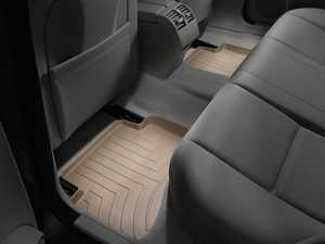 ES#2837774 - 451612 - 2008 - 2013 Mercedes-Benz C-Class (W204) Tan Rear FloorLiner - WeatherTech - Mercedes Benz