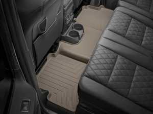 ES#2837795 - 452212 - 2002 + Mercedes-Benz G-Class (W463) Tan Rear FloorLiner - WeatherTech - Mercedes Benz