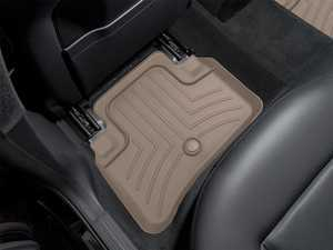 ES#2837817 - 452582 - Rear FloorLiner DigitalFit - Tan - Laser measured for perfect fitment and ultimate protection against moisture and debris - WeatherTech - Mercedes Benz
