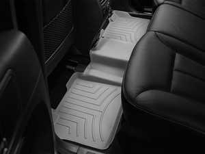ES#2837898 - 460162 - 2007 - 2012 Mercedes-Benz GL-Class (X164) Grey Rear FloorLiner - WeatherTech - Mercedes Benz