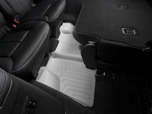 ES#2837899 - 460163 - 2007 - 2012 Mercedes-Benz GL-Class (X164) Grey Rear FloorLiner - WeatherTech - Mercedes Benz
