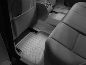 ES#2837936 - 461612 - 2008 - 2013 Mercedes-Benz C-Class (W204) Grey Rear FloorLiner - WeatherTech - Mercedes Benz