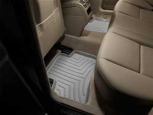 ES#2837946 - 462102 - 2009+ Mercedes-Benz GLK-Class (X204) Grey Rear FloorLiner - WeatherTech - Mercedes Benz
