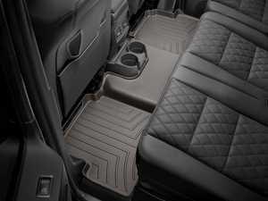 ES#3460496 - 472212 - Rear FloorLiner - Cocoa - Mercedes-Benz G-Class (W463) 2002 + - WeatherTech - Mercedes Benz
