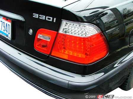ES#240189 - E464TREDLED2 - LED Tail Light Set - White/Red - (NO LONGER AVAILABLE) - Dramatically improve the appearance of your BMW with this simple bolt on - EagleEyes -