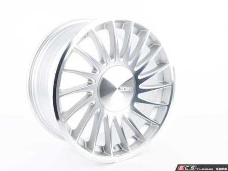 """ES#3560703 - 3SDM0045SD1 - 18"""" Style 0.04 - Priced Each 18x8.5 (Right) - *Scratch And Dent* - *Please see description prior to ordering.* 18x8.5 RH 5x112 Et42 Silver/Cut - 3SDM - Audi Volkswagen"""