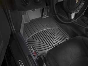 ES#2837636 - 442461 - Front FloorLiner DigitalFit Mats - Black - Laser measured for perfect fitment and ultimate protection against moisture and debris - WeatherTech - Porsche