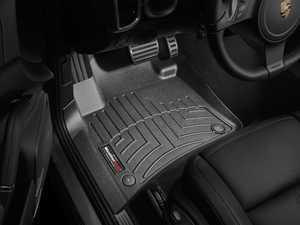 ES#2837665 - 443331 - front FloorLiner DigitalFit Mats - black - Laser measured for perfect fitment and ultimate protection against moisture and debris - WeatherTech - Volkswagen Porsche
