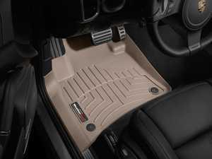 ES#2837835 - 453331 - Front FloorLiner DigitalFit Mats - tan - Laser measured for perfect fitment and ultimate protection against moisture and debris - WeatherTech - Volkswagen Porsche