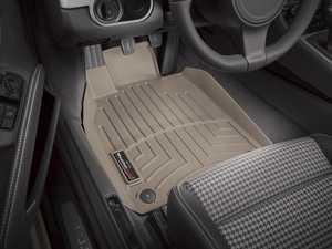 ES#2837867 - 454371 - 2012 + Porsche 911 (911) Tan Front FloorLiner - WeatherTech - Porsche