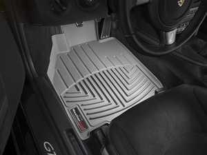 ES#2837968 - 462461 - Front FloorLiner DigitalFit Mats - grey - Laser measured for perfect fitment and ultimate protection against moisture and debris - WeatherTech - Porsche