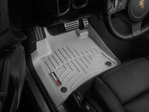 ES#2837997 - 463331 - Front FloorLiner DigitalFit Mats - grey - Laser measured for perfect fitment and ultimate protection against moisture and debris - WeatherTech - Volkswagen Porsche