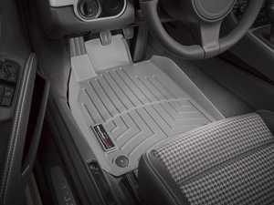 ES#2838029 - 464371 - 2012 + Porsche 911 (911) Grey Front FloorLiner - WeatherTech - Porsche